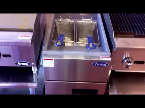 Atosa ATFS-40 40 Pound Deep Fryer Restaurant Equipment Seattle