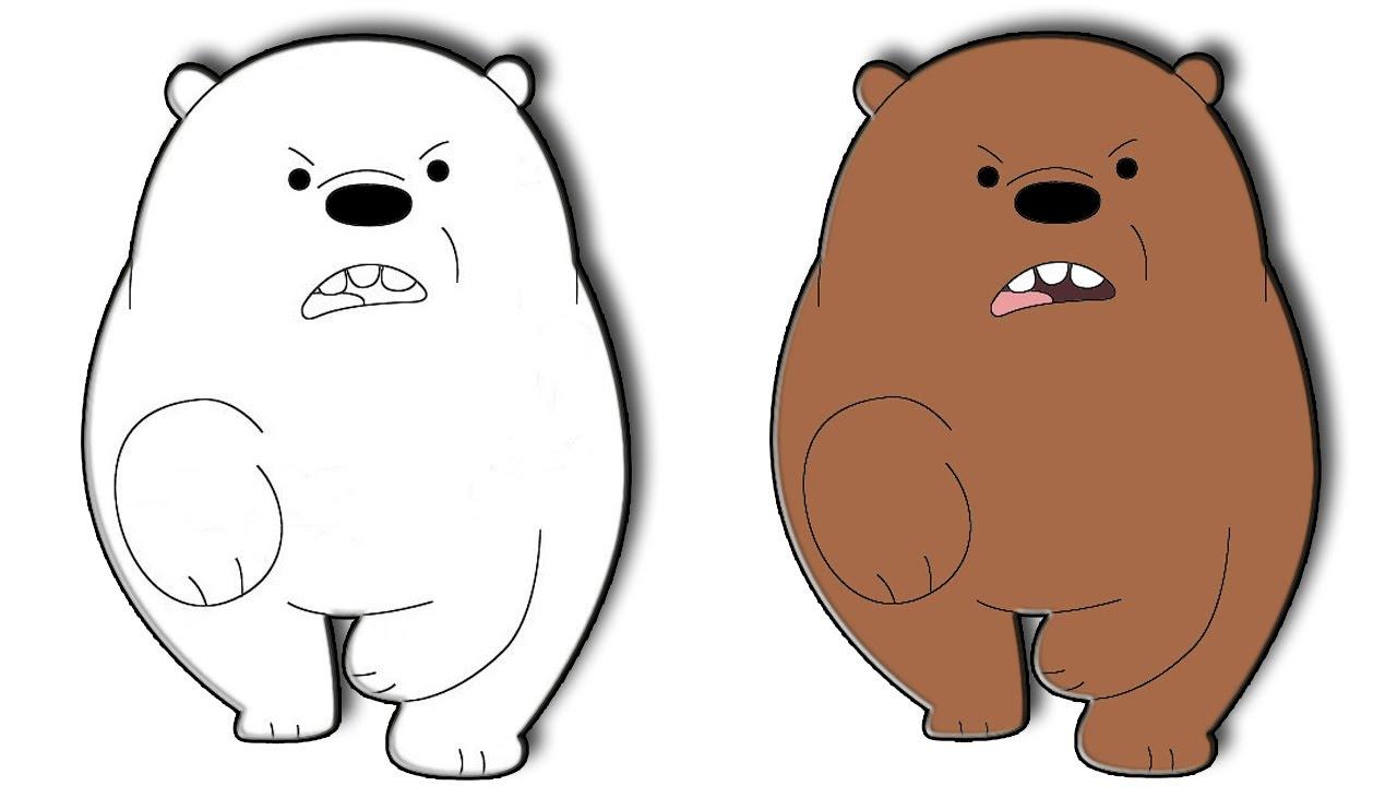 تعليم رسم شهاب من الدببة الثلاثة تعليم رسم دب Youtube