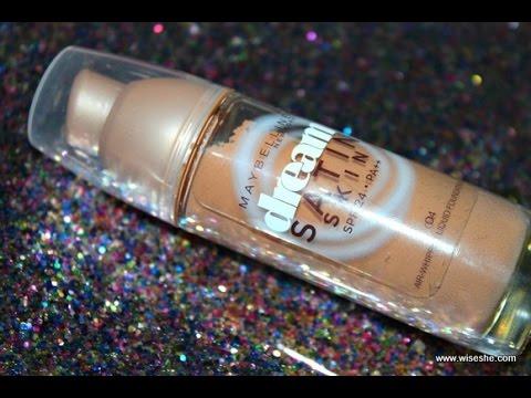 a848497a0 Review on super satin liquid foundation from maybelline ريفيو عن كريم اساس  ساتين من مايبيلين