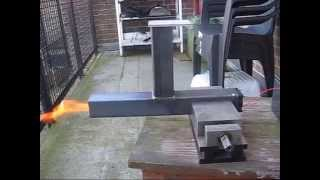 Pellet project 2015 Part 1 the burner test
