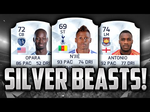 FIFA 16 - BEST OVERPOWERED SILVER TEAM - CHEAP SWEATY HYBRID SILVER SQUAD ! Fifa 16 Squad Builder