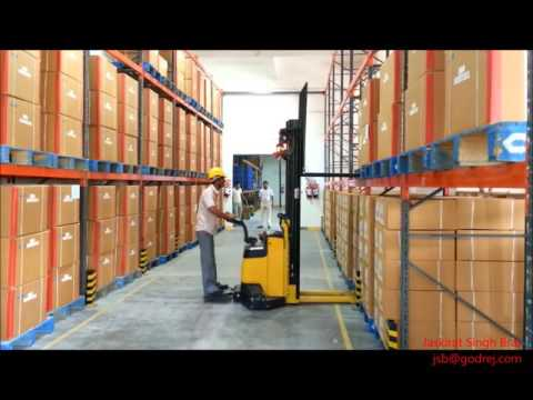 Godrej- Fully Electric Stacker (Part 1)