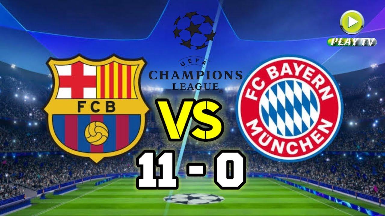 Download Barcelona vs Bayern Munich 11-0 Full Match Highlights   Barcelona 11 Goals