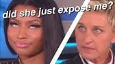 ellen making celebrities feel uncomfortable