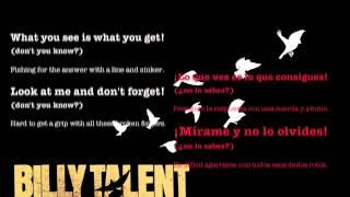 Billy Talent - line and sinker (español - inglés)