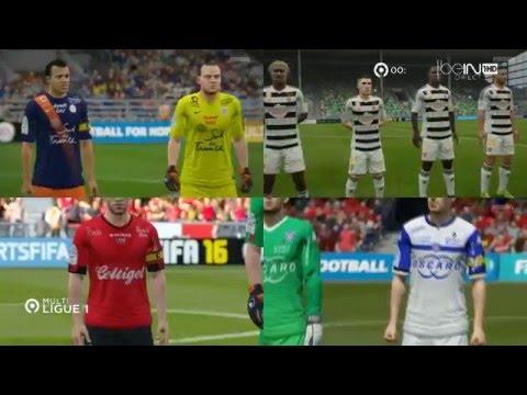 Multiplex Ligue 1 35ème Journée FIFA 16