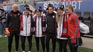 U.S. national teams share mutual support and respect