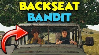 BACK SEAT BANDIT (Pan Ninja) - PUBG