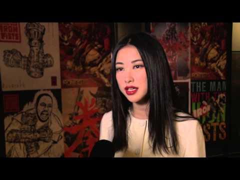 """Zhu Zhu """"The Man with the Iron Fists"""" LA Screening - YouTube"""