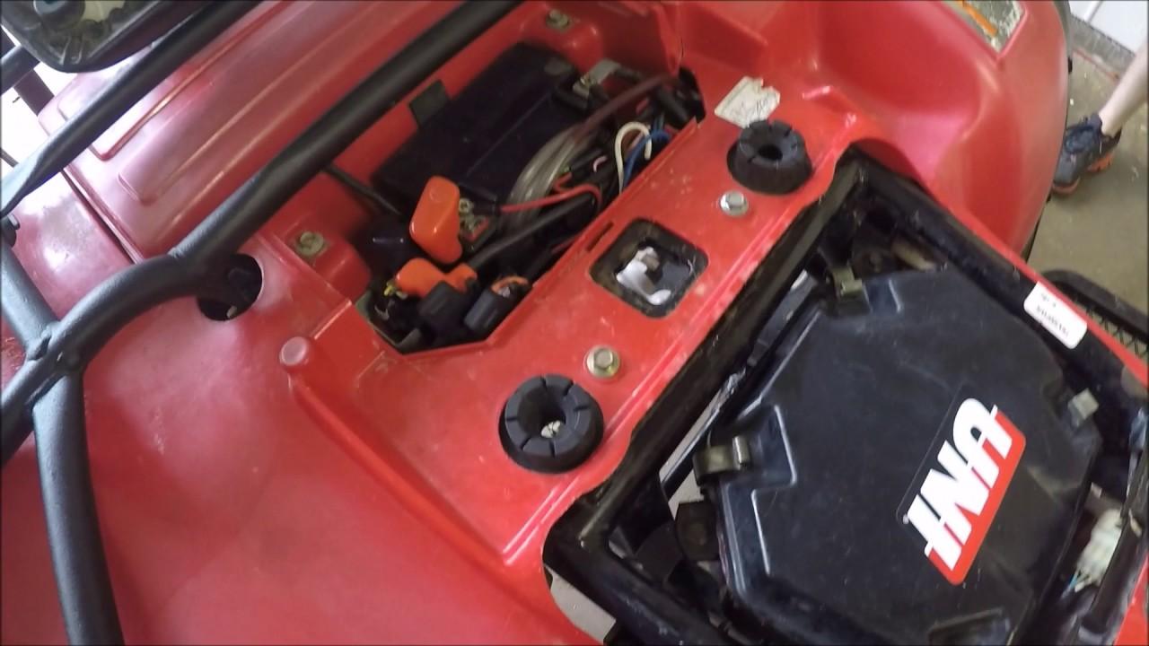 medium resolution of starter honda foutrax 300 wiring