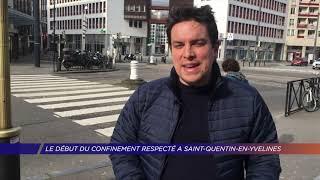 Yvelines | Le début du confinement respecté à Saint-Quentin-en-Yvelines