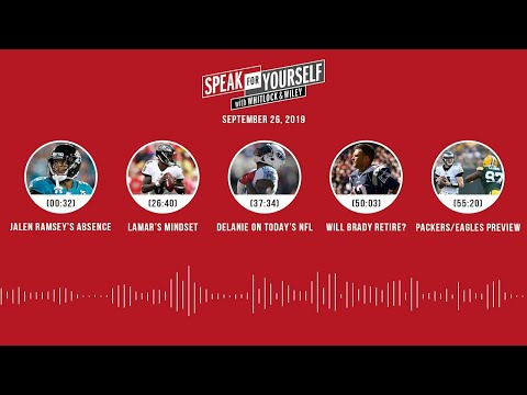 SPEAK FOR YOURSELF Audio Podcast (09.26.19)with Marcellus Wiley, Jason Whitlock | SPEAK FOR YOURSELF