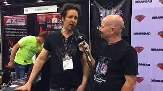 Glen Sobel Interview at NAMM 18 on Drum Talk TV