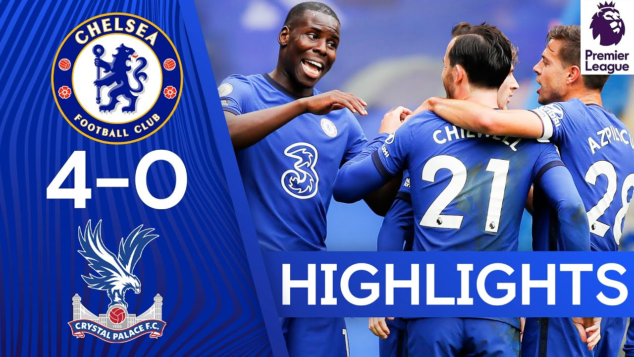 Chelsea 4-0 Crystal Palace | Ben Chilwell Bags Goal & Assist On PL Debut | Premier League Highli