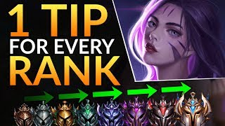 1 SECRET TIP for EVERY Rank | ADC Tricks to Rank up FAST - League of Legends Guide (Challenger)