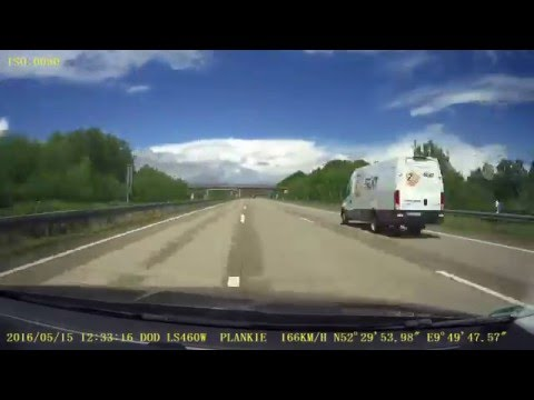 Timelapse - Driving from Berlin to Leeuwarden