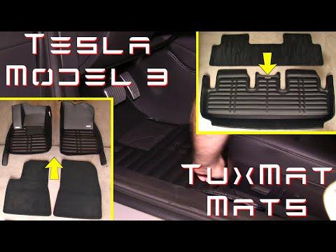 Tesla Model 3 - Tux Mat All Weather Mats