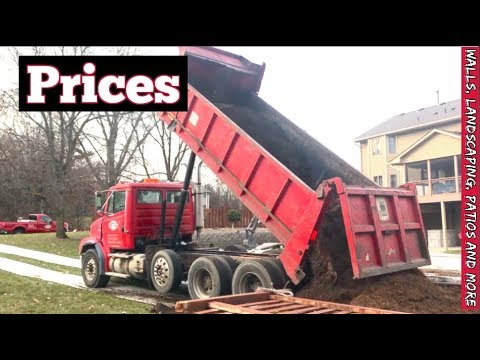 How to charge for Landscaping, Retaining walls, Patios and Outdoor Construction