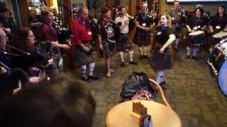 2015 Spring Fling Vernon Pub Crawl - Checkers Sports Bar #3 - Highland Dancer