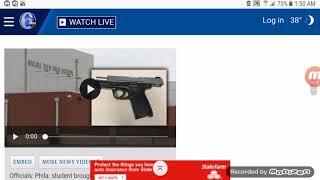 Officials: Phila. student brought loaded gun into high school