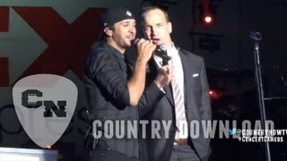 Peyton Manning and Luke Bryan Duet | Country Download Ep. 15 | Country Now
