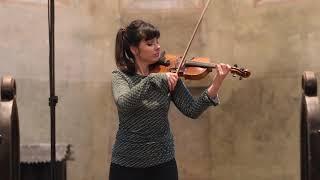 S. Prokofiev: Sonata for violin solo, D major, op. 115 (Markéta Janoušková), I.mvt Moderato