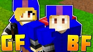 PLAYING BED WARS WITH MY GIRLFRIEND! | MInecraft BEDWARS