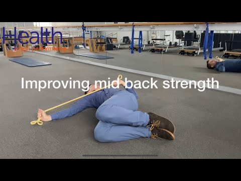Improving mid back strength | Melbourne Sports Chiropractor