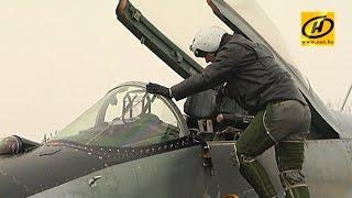 10 винищувачів Міг-29 після капітального ремонту прибули на аеродром в Барановичі