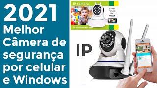 Melhor Câmera IP YYP2P HD ONVIF Review e Instalação completo