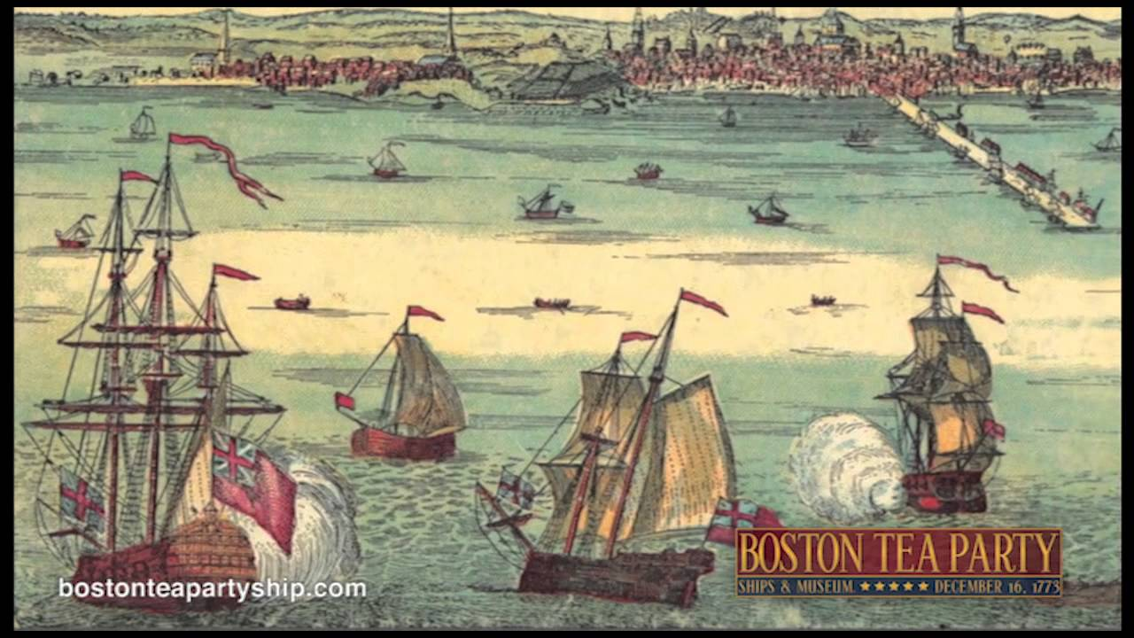 reactions to the boston tea party boston tea party museum youtube. Black Bedroom Furniture Sets. Home Design Ideas