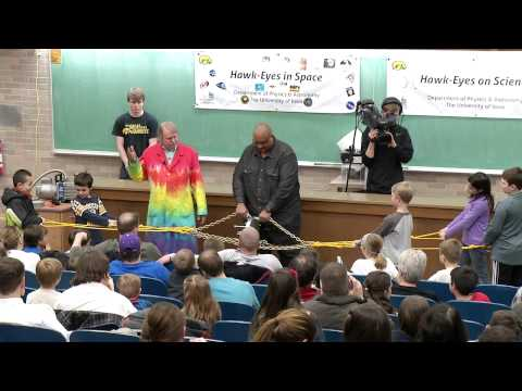 2014 University of Iowa Physics and Astronomy Demo Show