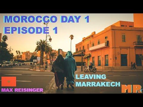 Leaving MARRAKECH and into the ATLAS MOUNTAINS | EPISODE 1