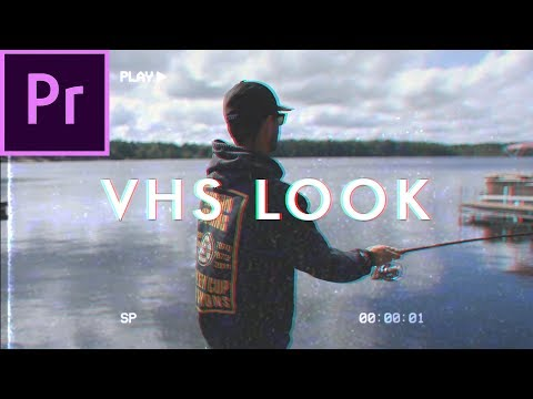 VHS Effect Tutorial (no plugins) | Adobe Premiere Pro (2020) thumbnail