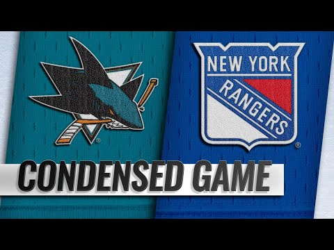 10/11/18 Condensed Game: Sharks @ Rangers