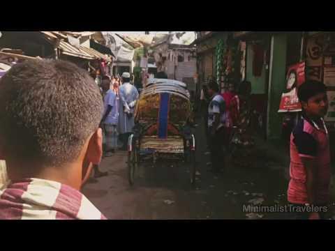 29 Seconds of Street life of Dhaka, Bangladesh, on the rickshaw, Personal Travel Experiences