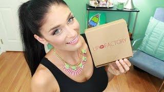 ★Lip Factory★ Beauty Subscription | September 2014 Thumbnail