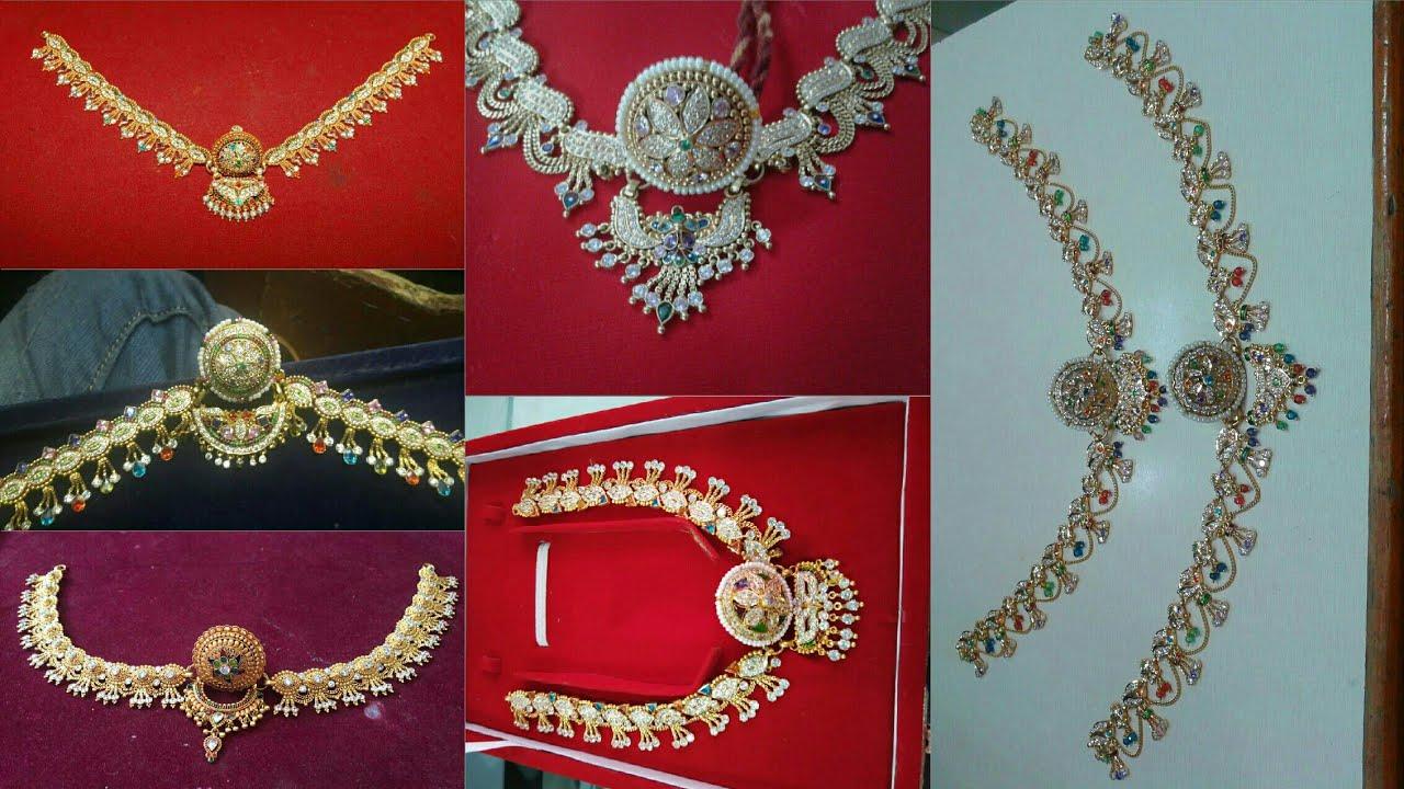 Rakhdi Set Design | Gold Rakhdi Design | Rajasthani Jewellery ...