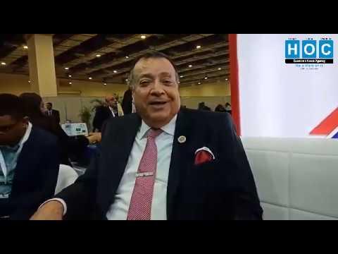 مهندس محمد سعد الدين - فى لقاء خاص لهوس نيوز - من مؤتمر النفط 2020