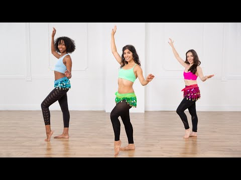 30-Minute Belly Dancing Workout For a Toned Core