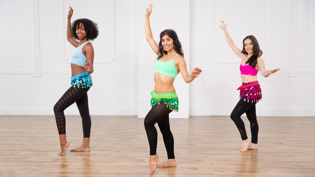 30-Minute Belly Dancing Workout For a Toned Core - YouTube