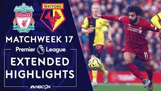 Liverpool v. Watford | PREMIER LEAGUE HIGHLIGHTS | 12/14/19 | NBC Sports