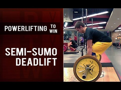 Understanding The Semi Sumo Modified Sumo Deadlift Powerlifting
