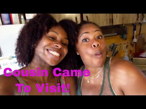 My cousin came to visit | Interracial family vlog|biracial family
