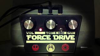 Force Drive - A distortion pedal by Jaska's Music Garage