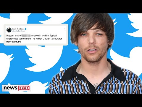Louis Tomlinson EXPLODES On Twitter Over One Direction Tabloid Article!