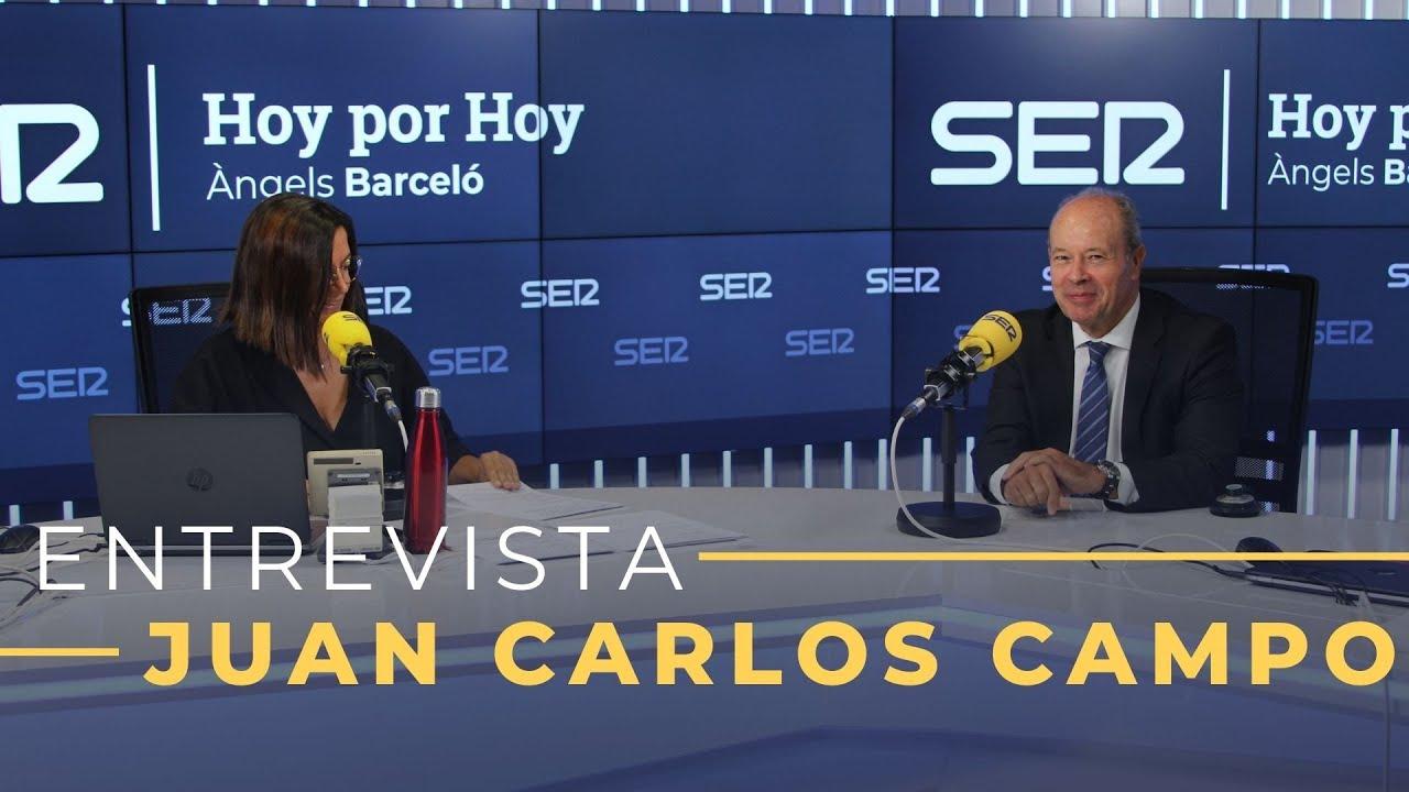 Entrevista a Juan Carlos Campo en Hoy por Hoy (24/09/2020)