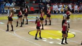 Angel Cheerleaders Bratislava - All-star game 2013 basketball (2013-12-14) BK Inter