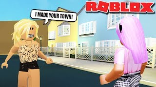 FANS MADE MY TOWN | Bloxburg Builds | Roblox