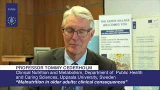 EVL - Professor Tommy Cederholm: Malnutrition in older adults: clinical consequences